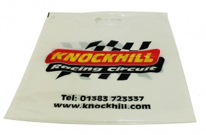 Plastic Bag Knockhill Racing Circuit