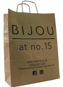 Bijou 15 paper bag