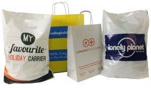 Custom printed bags for holiday season