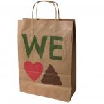 Printed Paper Bags, Brown paper bag