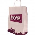 Custom branded paper bag