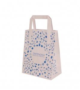 printed counter bag
