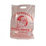 Christmas plastic bag