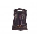 Wine bottle carrier bag