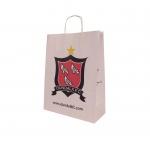 Sports club printed paper bags