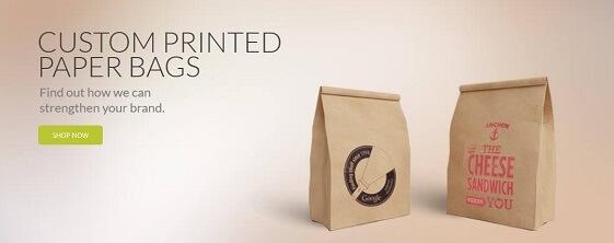 Custom printed plastic bags UK maker